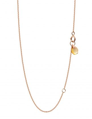 18k-solid-rose-gold-crystal-link-chain-orange-citrine-rebeccali