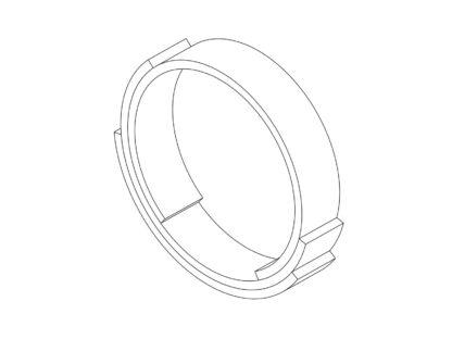 Rebecca Li Infinite Love Ring 3 Layers 4mm