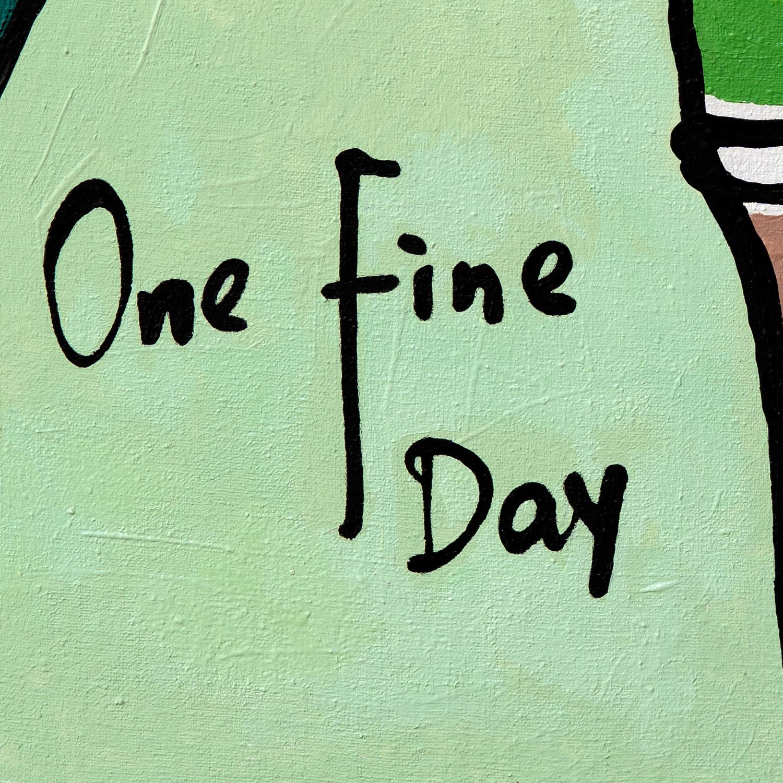 One Fine Day, Rebecca Li Oil Painting