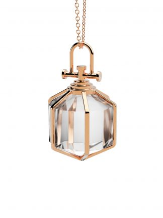 Rebecca Li medium six senses talisman pendant