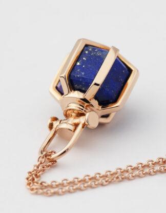 Rebecca Li Six Senses Talisman Mini Pendant Necklace with Lapis Lazuli